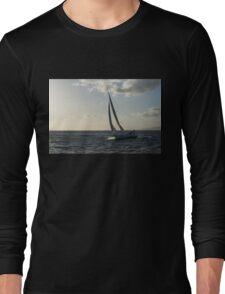 Sailing Towards the Sunlight Long Sleeve T-Shirt