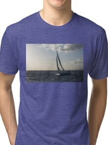 Sailing Towards the Sunlight Tri-blend T-Shirt