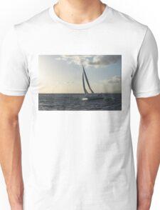 Sailing Towards the Sunlight Unisex T-Shirt