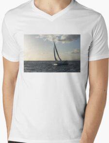 Sailing Towards the Sunlight Mens V-Neck T-Shirt
