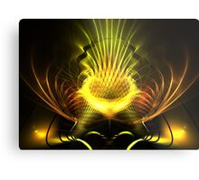 Gilded Pineapple Metal Print