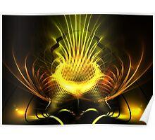 Gilded Pineapple Poster