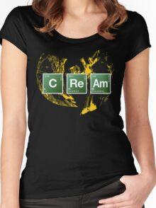 Heisenberg Cream Women's Fitted Scoop T-Shirt