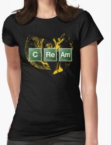 Heisenberg Cream Womens Fitted T-Shirt