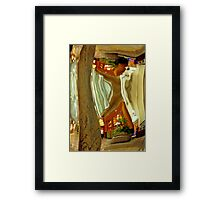 Deformed reality Framed Print