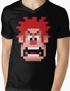 Wreck it Ralph T-Shirt Mens V-Neck T-Shirt