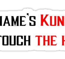 Kung Lao's Hat Sticker