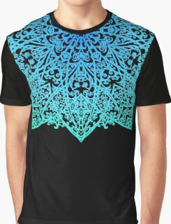 Mandala *green, blue & black* Graphic T-Shirt
