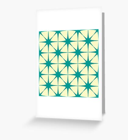 Tracery of the stars Greeting Card