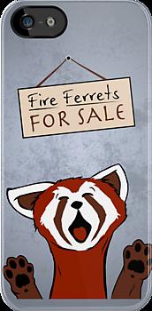 Fire Ferrets For Sale by thehookshot