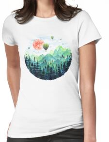 Roundscape Womens Fitted T-Shirt