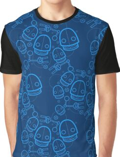 Spaztic Bots 3 Graphic T-Shirt