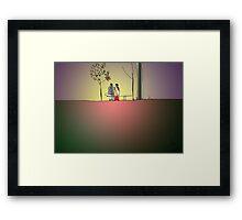 Indian Lovers 2 Framed Print
