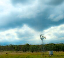 Lone Windmill by Renee Hubbard Fine Art Photography