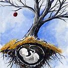 ACEO Tree of Vision - UnBorn by dvampyrelestat