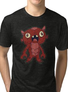 Monster Kaiju 001 Tri-blend T-Shirt