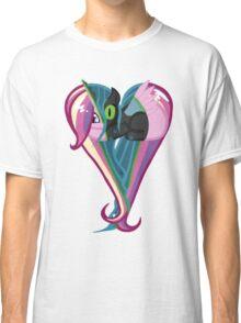 Queen Chrysalis/Princess Cadance Heart Classic T-Shirt