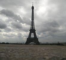 eiffel tower by gracepritchett