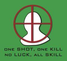 One Shot, One Kill by Pwnapple