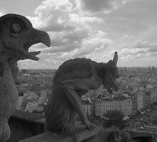 gargoyles by gracepritchett
