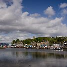 Across the Bay at Tarbert by Kasia-D