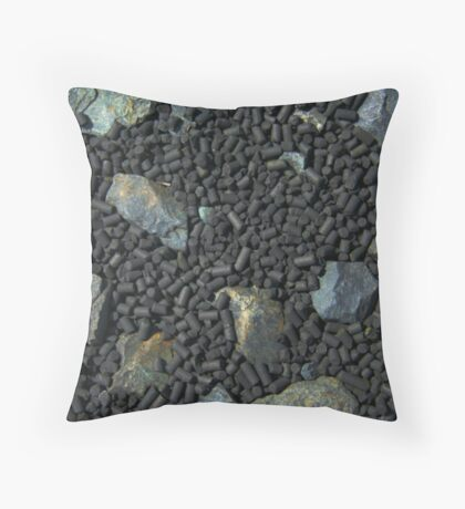 Pellets Throw Pillow