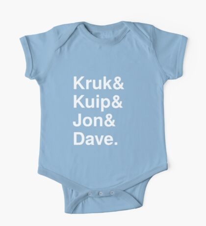 Kruk& Kuip& Jon& Dave. One Piece - Short Sleeve