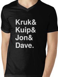Kruk& Kuip& Jon& Dave. Mens V-Neck T-Shirt