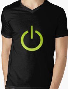 Turned On Mens V-Neck T-Shirt