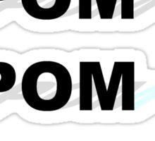 Pom Pom Pom Sticker