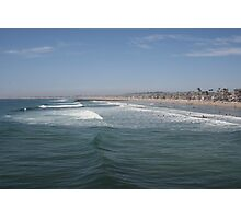 The vibrant coast of Newport Beach, California Photographic Print