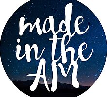 MADE IN THE AM by hslim