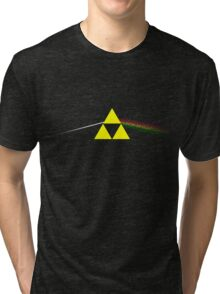Dark Side of the Triforce Tri-blend T-Shirt