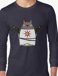 Totoro praise the sun Long Sleeve T-Shirt