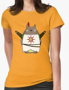 Totoro praise the sun Womens Fitted T-Shirt