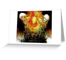 just an explosive dream...... Greeting Card