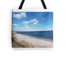 Block Island beach Tote Bag
