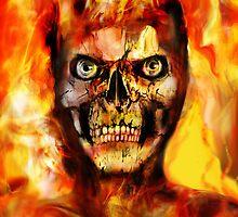 BURNING MAN by Ray Jackson
