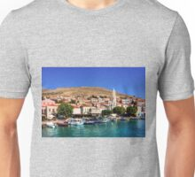 Fishing Boats at the Harbour Unisex T-Shirt