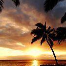 island sunset by Angelika Sielken