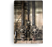 Pressure Metal Print