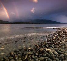 Rainbows in the Morning by Michael Treloar