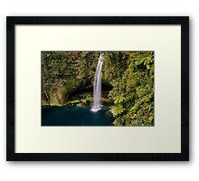 Omanawa Falls Framed Print