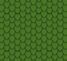 Green Dragon Scales by Charley Z