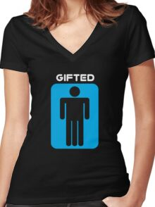 Gifted Women's Fitted V-Neck T-Shirt