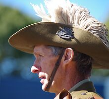 Anzac Day in Dorrigo by Clare Colins