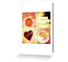 Cambridge Collection: Love Coffee Greeting Card
