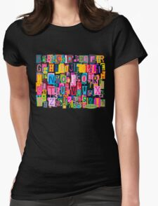 Blockhead Womens Fitted T-Shirt