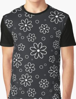 Pattern in flowers of camomile Graphic T-Shirt