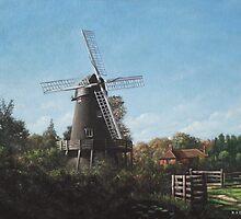 Southampton Bursledon Windmill by martyee